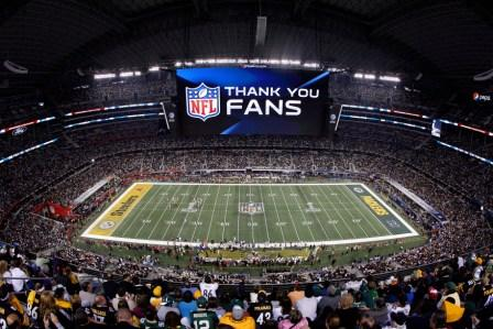 Cowboys Stadium during Super Bowl XLV (Getty).