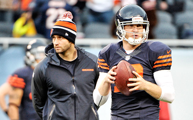 Could Josh McCown start somewhere other than Chicago? (USATSI)