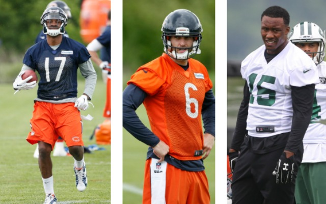 size 40 c8a55 8922d Alshon Jeffery skips Cutler-led workouts to train with ...
