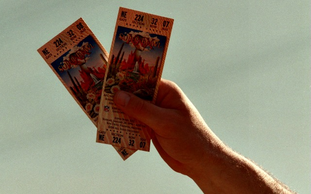 Tickets! Who needs playoffs tickets? Not Dallas fans, apparently. (Getty Images)