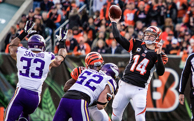 QB Andy Dalton is officially the face of the franchise in Cincinnati. (USATSI)