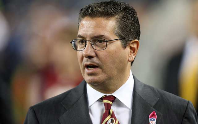 Dan Snyder is 101-125 in his 15 years owning the Redskins.(USATSI)