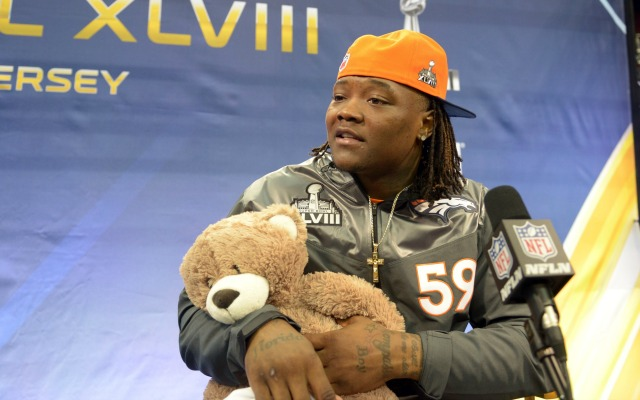 Danny Trevathan had 129 total tackles and three interceptions last season. (USATSI)