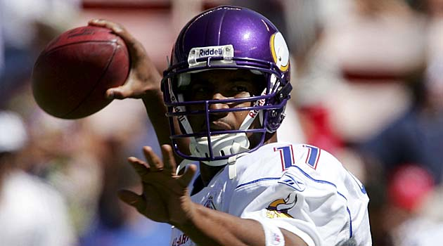 Daunte Culpepper last played an NFL game in 2009. (Getty Images)