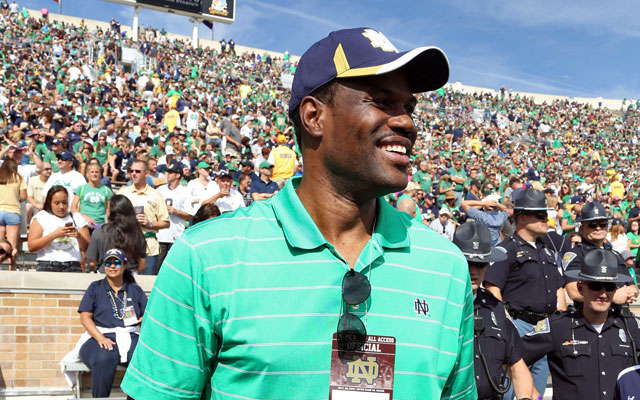 David Robinson watches on as his son matures on and off the field. (USATSI)