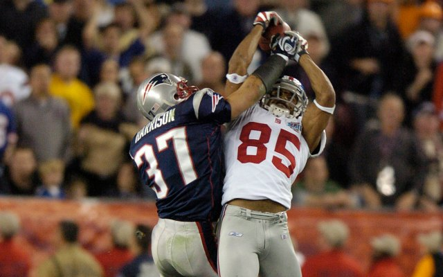 David Tyree had one of the most important catches in NFL title history. (Getty Images)