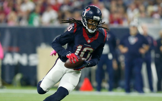 Texans WR DeAndre Hopkins got his nickname from a pacifier