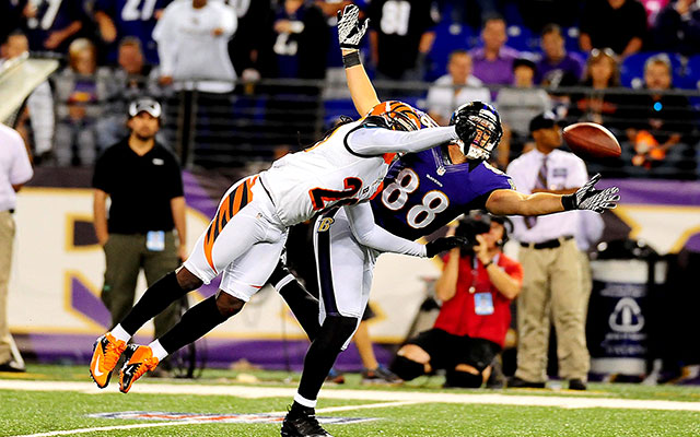 Dennis Pitta reportedly has been placed on the Ravens active roster. (USATSI)