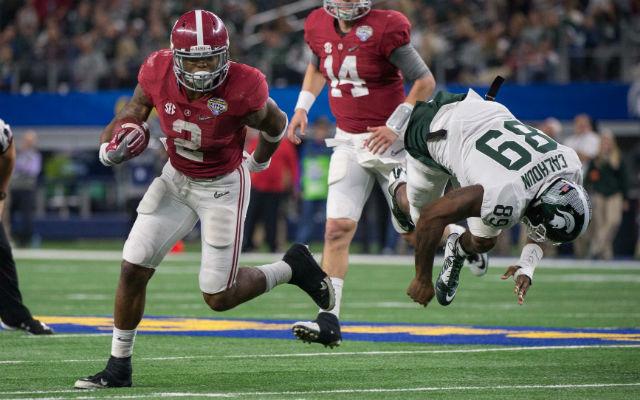 Derrick Henry College Football Playoff National Championship Clemson Alabama (USATSI)