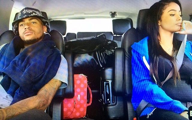 DeSean Jackson and his girlfriend Kayla Phillips are expecting. (BET, via the Washington Post)