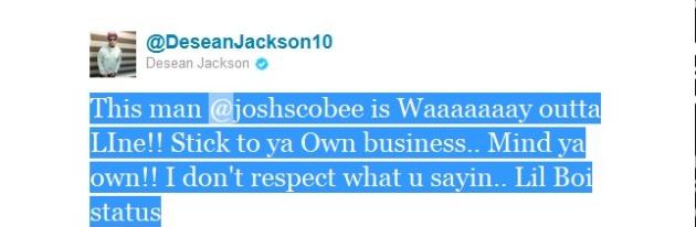 Jackson tweet