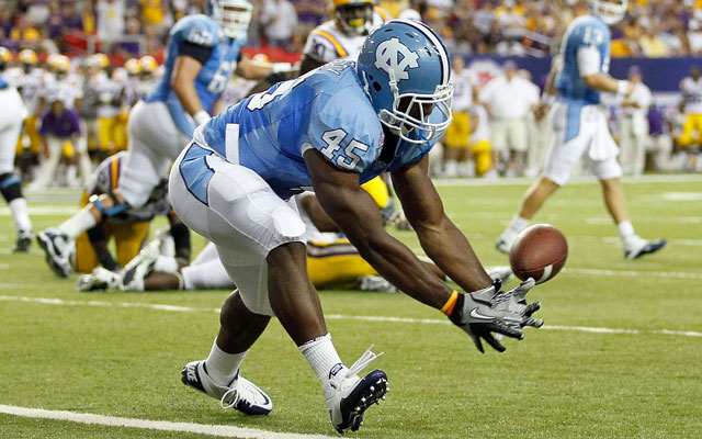 Devon Ramsay is one of two UNC athletes suing the NCAA. (Getty Images)