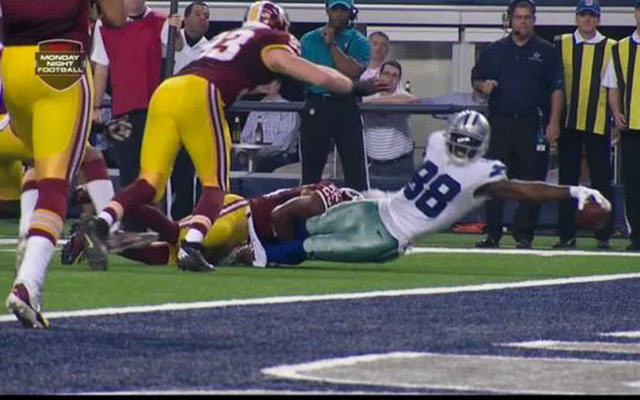 Dez Bryant Makes 1 Handed Catch Breaks 2 Tackles Scores Td