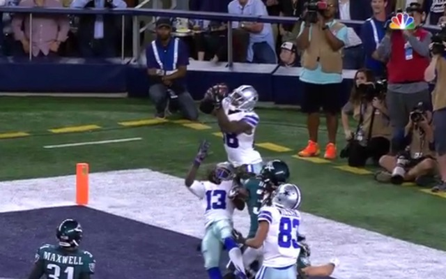 Dez Bryant Outjumps Three Eagles Makes An Incredible Td