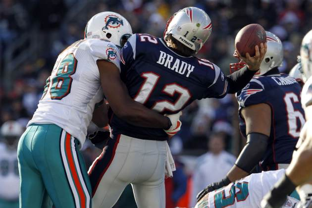 Miami is having no problems with New England so far today (US Presswire).