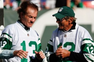 Don Maynard (left) said he could have taken D. Revis one on one (Getty).