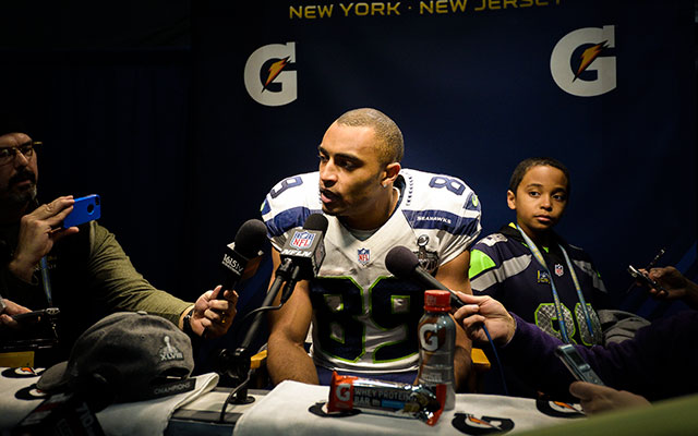Former undrafted free agent Doug Baldwin is staying in Seattle. (USATSI)