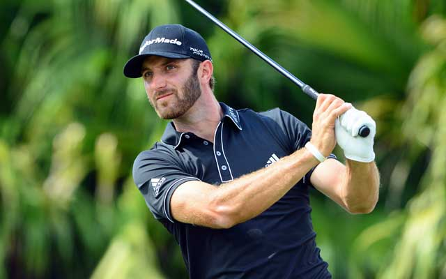 Dustin Johnson has the power to be a contender.