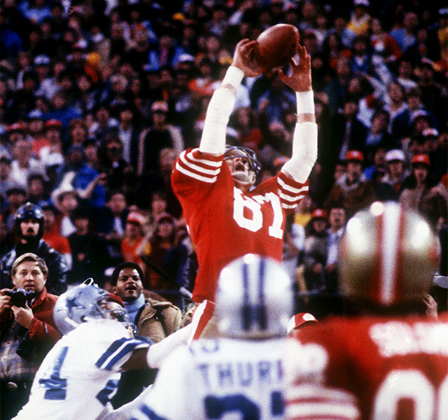 Image result for joe montana cowboys images the catch