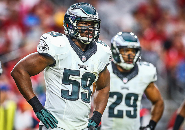 Eagles release 2-time Pro Bowl LB Ryans