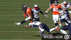 Patriots-Broncos highlights (CBS Sports)