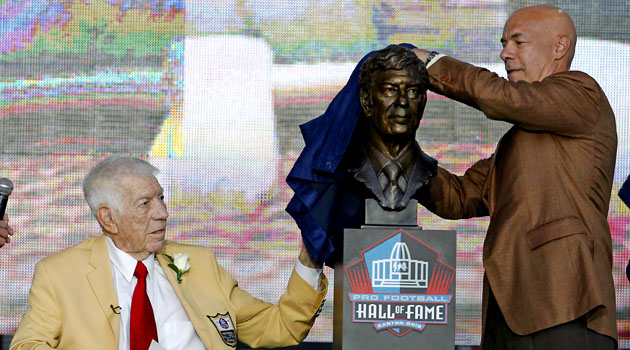 Ed Sabol is the last contributor to be elected to the Hall of Fame in 2011. (USATSI)