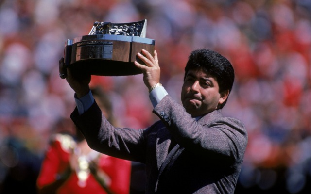 Eddie DeBartolo ran one of the best organizations in football. (Getty Images)