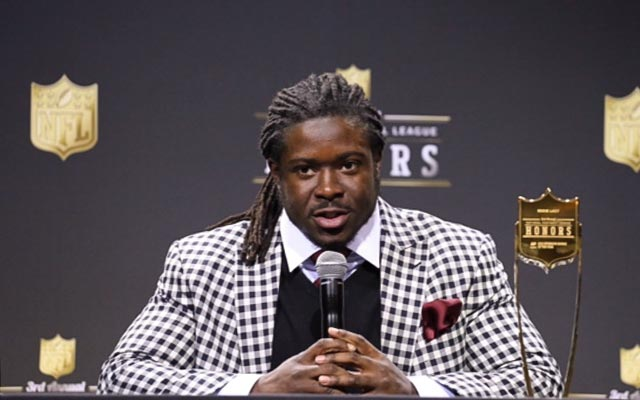 Eddie Lacy won the NFL's offensive rookie of the year award on Saturday. (CBSSports.com/Ryan Wilson)