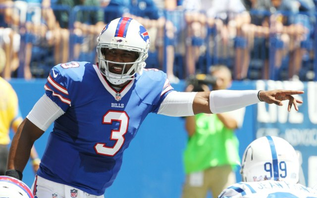 E.J. Manuel was effective in his first preseason game. (USATSI)