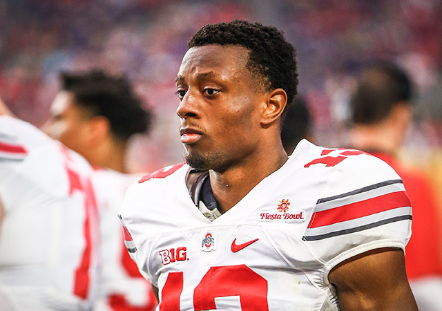Eli Apple was the latest player at the combine to be asked about his sexuality. (USATSI)