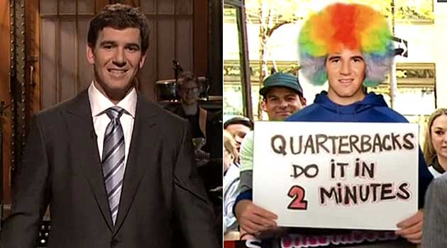 Video: Eli Manning's 'Saturday Night Live' monologue - CBSSports.