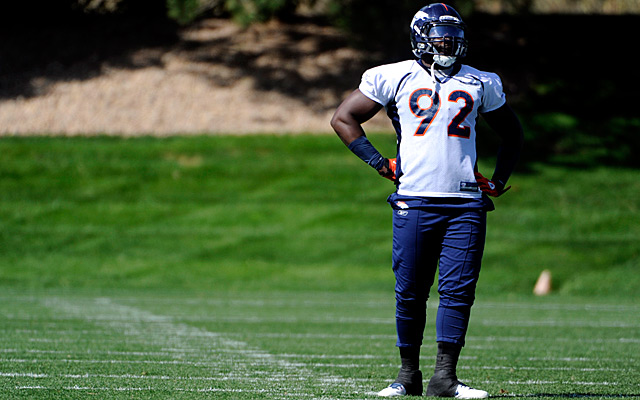Has Dumervil played his last game in Denver? (Getty Images)