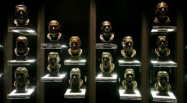 Who will be the next Hall of Fame class to have their busts displayed? (USATSI)