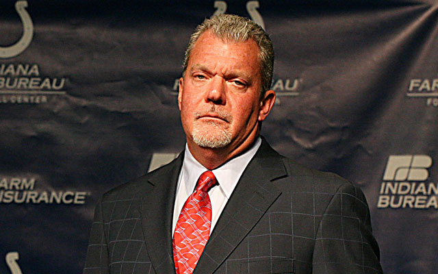 Jim Irsay will be disciplined under the league's personal conduct policy. (USATSI)