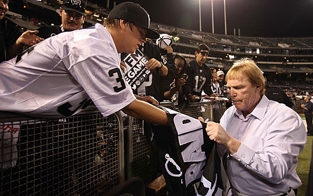 Raiders owner Mark Davis chose his words carefully regarding a possible move to L.A.