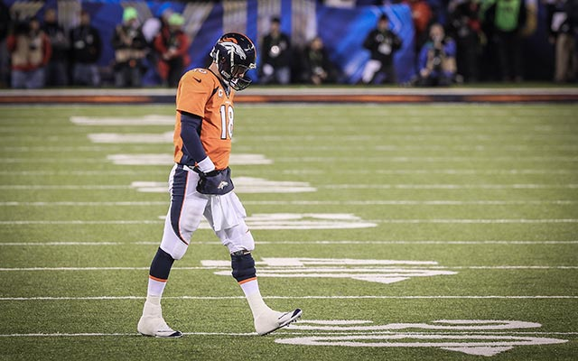It was a long, long, loooonnng night for Manning. (USATSI)