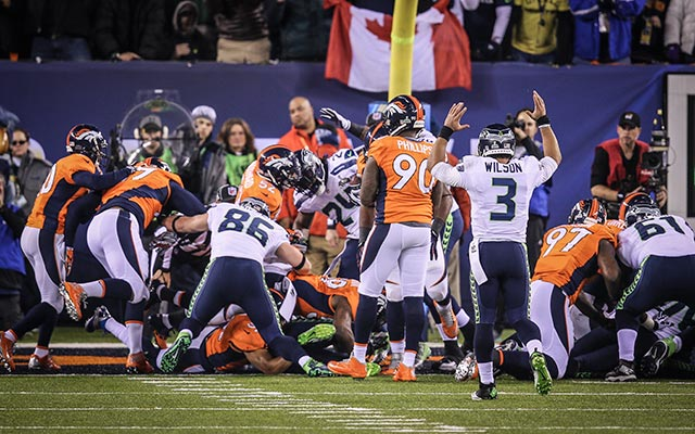 That led to Beast Mode touchdown. (USATSI)
