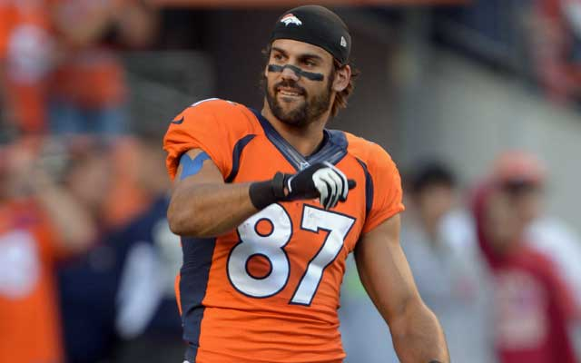 Eric Decker has been targeted 174 times since Peyton Manning came to town. (USATSI)
