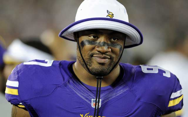 Everson Griffen tallied 5.5. sacks for the Vikings as a reserve in 2013.