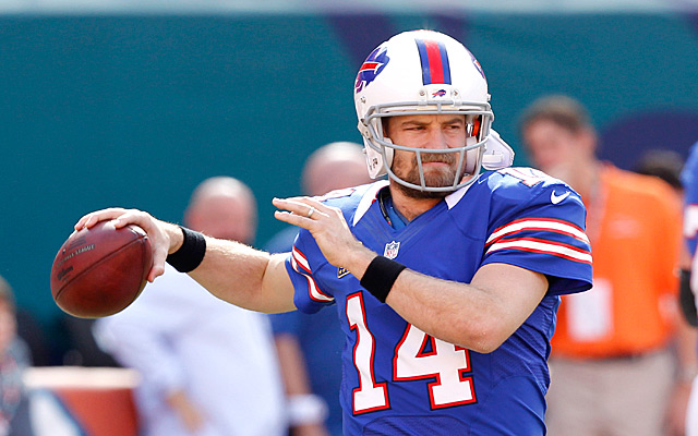 It looks as if Fitzpatrick will replace Hasselbeck as Locker's backup. (Getty Images)