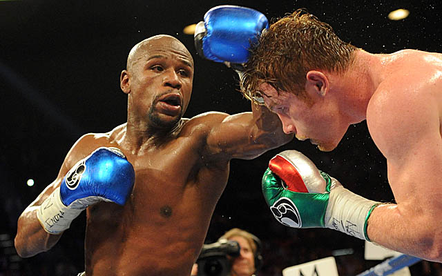 Floyd Mayweather fights Marcos Maidana on May 3. (USATSI)