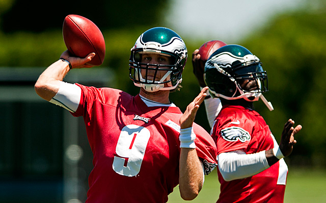 It sounds as if Michael Vick is OK with Nick Foles starting at quarterback. (USATSI)