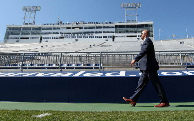 James Franklin hopes Penn State is on the road to recovery. (USATSI)