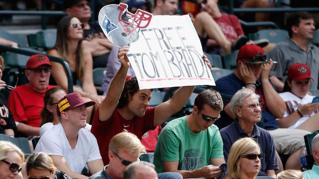 Tom Brady rally? Be there or be square. (Getty Images)