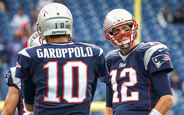 Jimmy Garoppolo could make his first NFL start this September. (Getty Images)