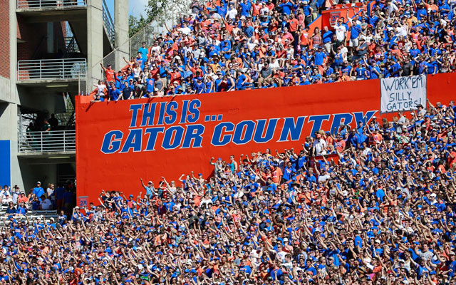 Florida fans returned to packing The Swamp in 2015. (USATSI)