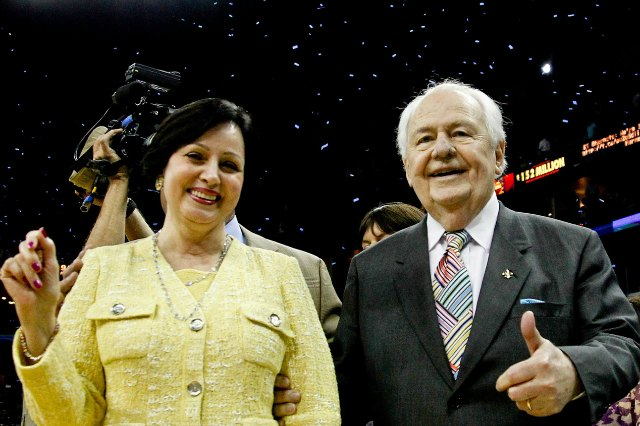 Gayle Benson was a hero to one sports writer Sunday. (USATSI)