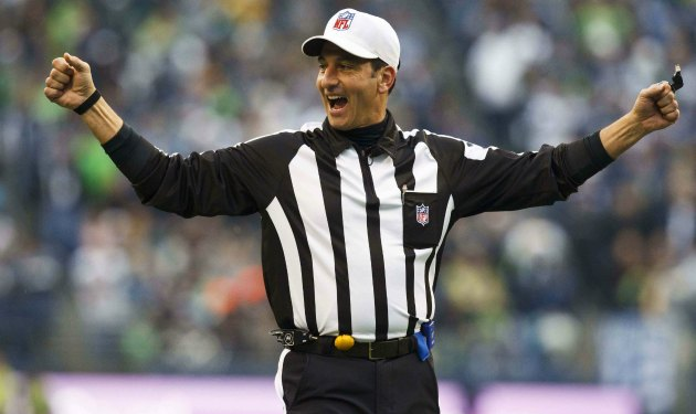 And the Referee for the Broncos – Giants game is…