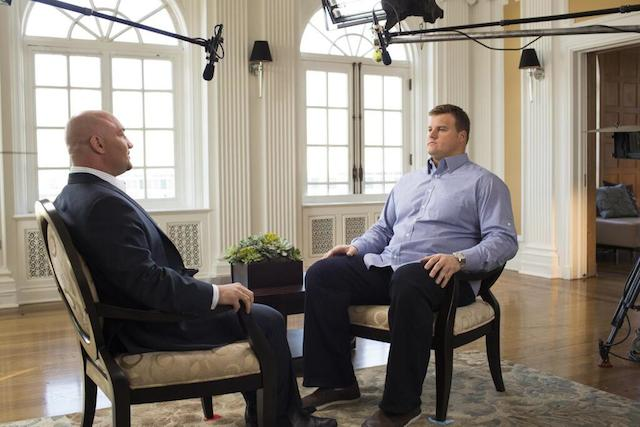 Richie Incognito was interviewed on Saturday. (FOX)