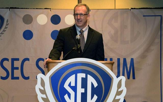 New SEC commissioner Greg Sankey's influence is massive. But he's not No. 1. (SEC)